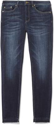 Vince Camuto Raw-edge Cropped Jeans