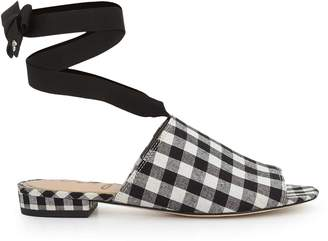 Sam Edelman Theodora Ankle Wrap Slide Sandal