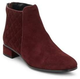 Laurel Suede Booties $495 thestylecure.com