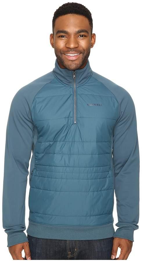 Merrell Murren Hybrid 1/4 Zip Top Men's Long Sleeve Pullover