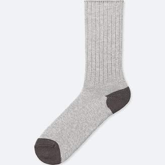 Uniqlo Men's Heattech Heather Socks