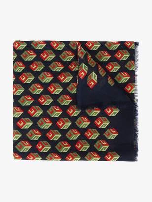 Gucci Wallpaper GG Print Cube Scarf