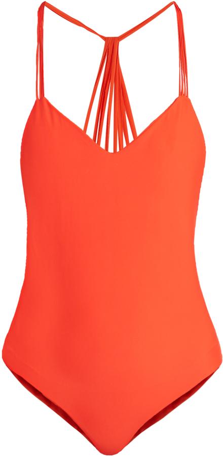 MIKOH Copacabana V-neck swimsuit