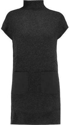Joie Wool And Cashmere-Blend Mini Dress