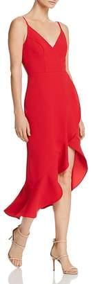 Aqua High/Low Flounced Dress - 100% Exclusive
