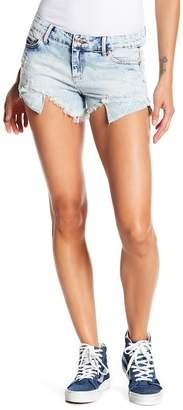 Tractr Hi-Lo Fray Shorts