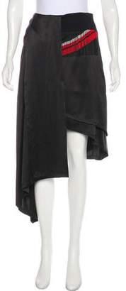 Preen by Thornton Bregazzi Embellished Midi Skirt