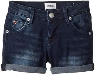Hudson 2 1/2 Roll Shorts in Low Octane Girl's Shorts