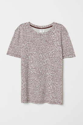 H&M T-shirt with Motif - Beige