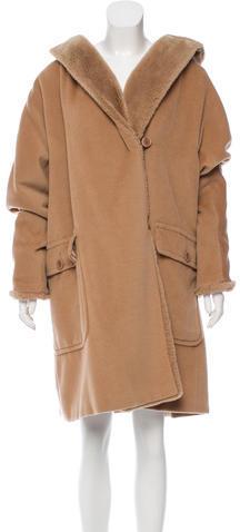 Max MaraMaxMara Wool & Cashmere-Blend Coat