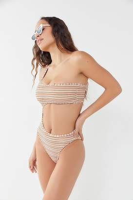 Ellejay Kristin One-Shoulder One-Piece Swimsuit