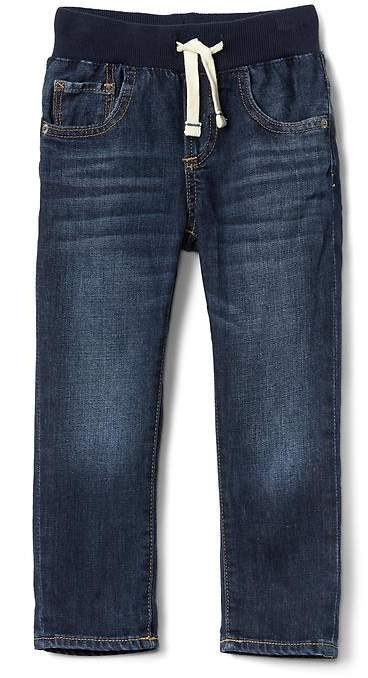 Pull-On Slim Jeans with Stretch