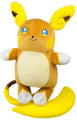 Pokemon Optimum Fulfillment Tomy Alolan Raichu Plush, Large