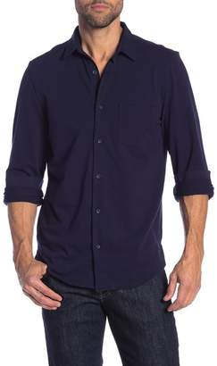 14th & Union Knit Button Front Shirt