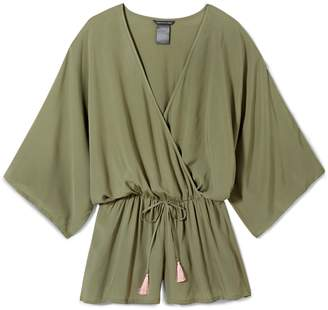 Vince Camuto Dolman-sleeve Cover-up Romper