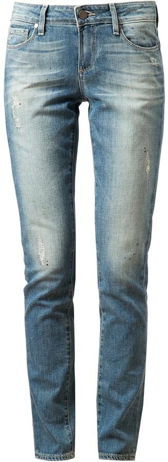 Paige Skyline Ankle Peg Denim Jeans