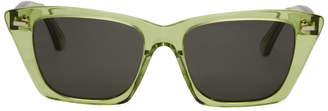 Acne Studios Green Ingridh Sunglasses