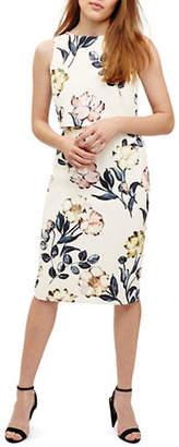 Phase Eight Peony Floral-Print Sheath Dress