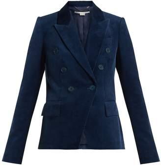Stella McCartney Double-breasted cotton-corduroy blazer