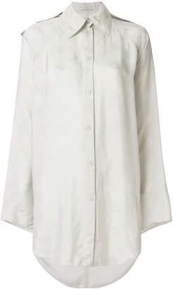 Nina Ricci logo jacquard shirt