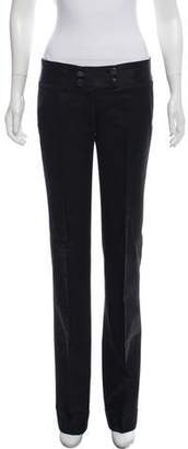 CNC Costume National Satin Wide-Leg Pants