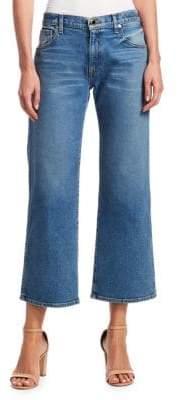 Khaite Wendall Crop Wide-Leg Jeans