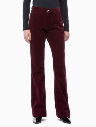 Calvin Klein corduroy high rise bootcut pants