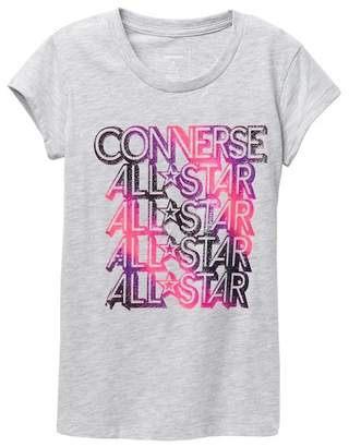 Converse Soul Train Boxy Tee (Big Girls)