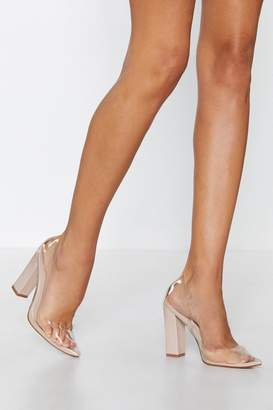 Nasty Gal Stand Clear Pointed Heel
