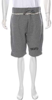 Undefeated Distressed Logo Sweat Shorts