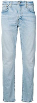 Levi's distressed slim tapered jeans
