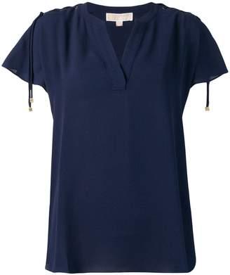 MICHAEL Michael Kors lace-up blouse