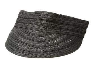 Lauren Ralph Lauren Packable Straw Visor Hat Casual Visor