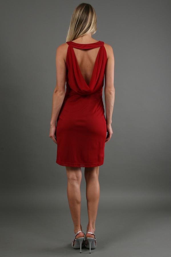 Sue Wong Twisted Knot Short Dress
