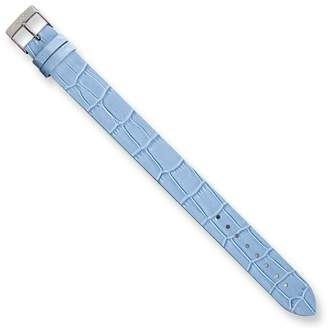 Moog Paris AL-09 Alligator Texture Calf Leather Satin Finish Watch Strap