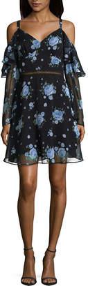 DISNEY PRINCESS Disney Princess Disney Princess Easter Sleeveless Floral Maxi Dress-Juniors