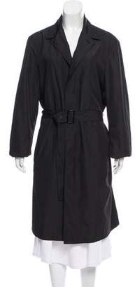 Calvin Klein Collection Belted Long Coat
