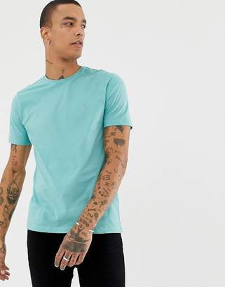 AllSaints T-Shirt In Pastel Green With Logo