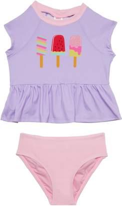 Hula Star Ice Pops Two-Piece Tankini Swimsuit