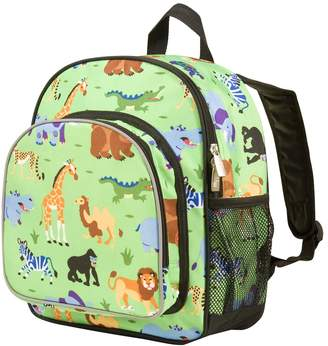 Olive Kids Wildkin Wild Animals Pack 'n Snack Backpack - Kids