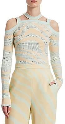 Roberto Cavalli Women's Zebra Knit Top