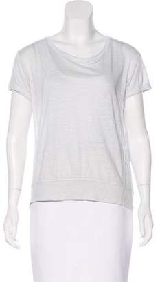 Theory Linen Jersey Top