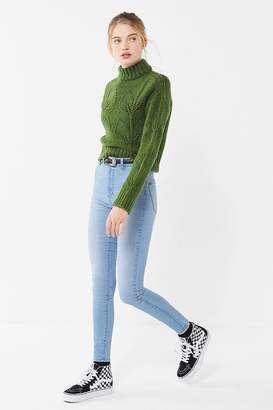 BDG Pinup High-Rise Skinny Jean – Light Blue
