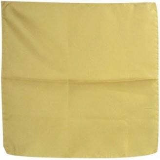 Forzieri Light Yellow Silk Pocket Square