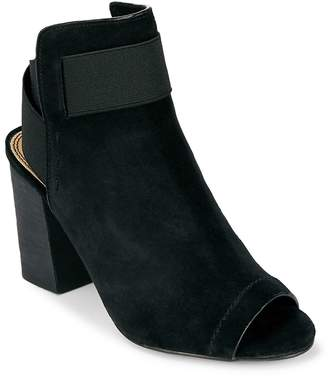 Splendid Women's Daina Suede Peep Toe Booties