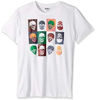 William Rast Men's Skull in Graphic Tee