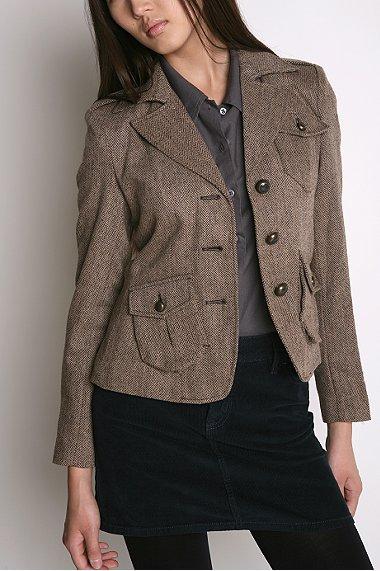 BDG Tweed Blazer