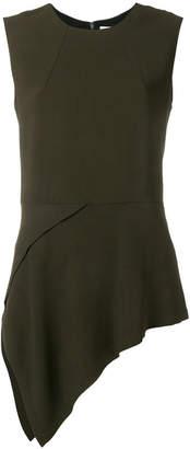 Victoria Beckham asymmetric sleeveless blouse