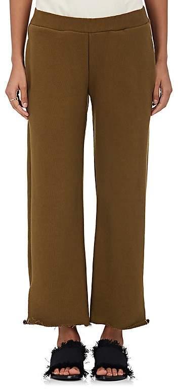 Women's Canal Cotton Crop Sweatpants