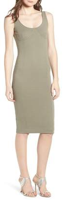 Topshop Underbust Rib Body-Con Dress